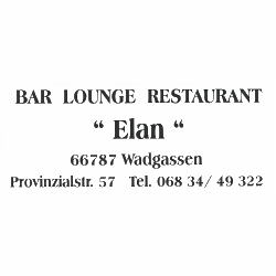 Cafe - Restaurant - Bistro - Elan in Wadgassen